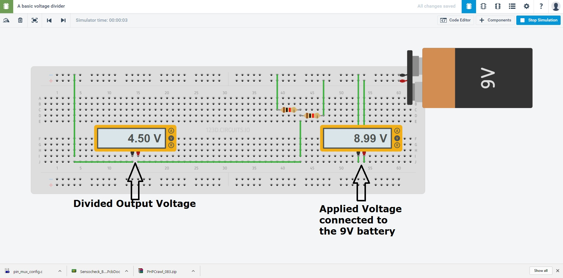 Cnk Tech Labs Voltage Divider Circuit A Simple